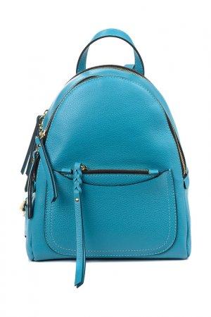Сумка-рюкзак Gianni Chiarini. Цвет: голубой
