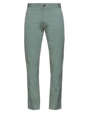 Повседневные брюки IUTER. Цвет: светло-зеленый
