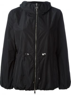 Ветровка с капюшоном Moncler. Цвет: чёрный