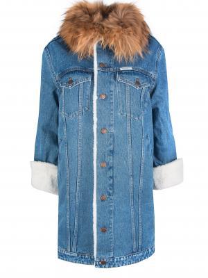 Утепленная джинсовая куртка FORTE COUTURE