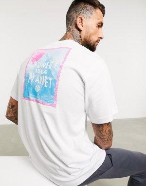Белая футболка -Белый Element