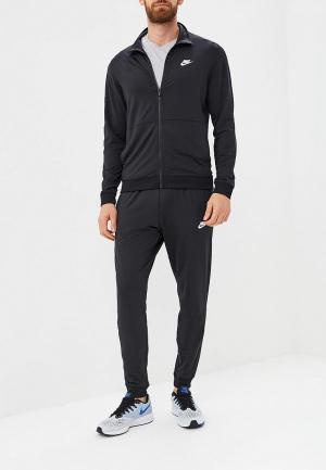 Костюм спортивный Nike Sportswear Mens Track Suit. Цвет: черный