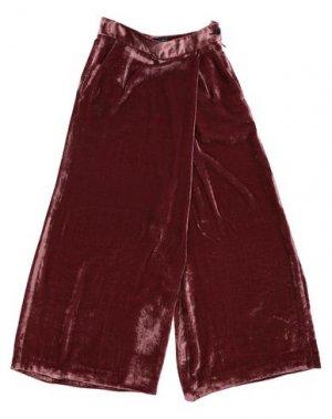 Брюки-капри PT Torino. Цвет: красно-коричневый