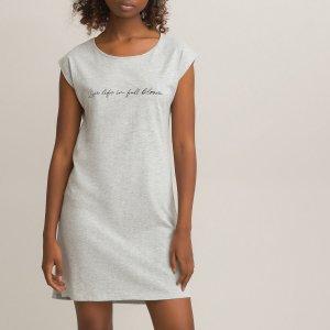 Комплект из 2 ночных рубашек LaRedoute. Цвет: серый
