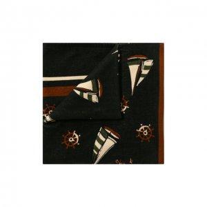 Хлопковое полотенце Dolce & Gabbana. Цвет: зелёный