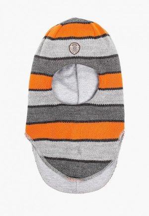 Балаклава Kotik Шлем Скуби, с утеплителем. Цвет: серый
