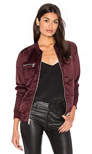 Куртка бомбер astrid RtA. Цвет: красное вино