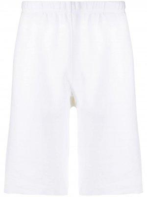 Спортивные шорты с нашивкой-логотипом Champion. Цвет: белый