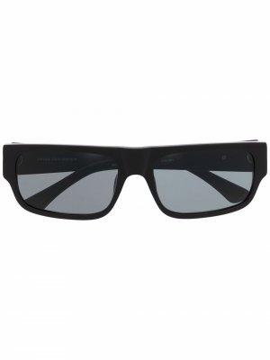 Солнцезащитные очки из коллаборации с Dries Van Noten Linda Farrow. Цвет: черный