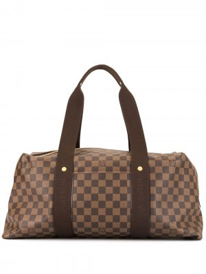 Дорожная сумка Weekender MM Louis Vuitton. Цвет: коричневый