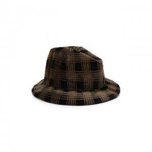 Шляпа из меха норки Kussenkovv. Цвет: коричневый