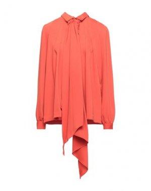 Блузка HOTEL PARTICULIER. Цвет: оранжевый