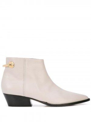 Ботинки West Tibi. Цвет: серый