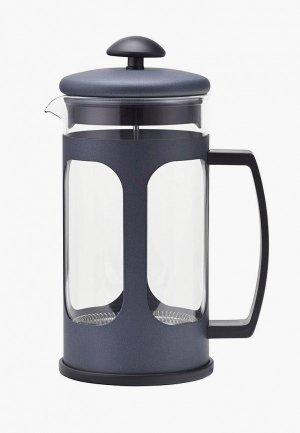 Чайник заварочный Polaris френч-пресс Bizarre-1000FP, 1 л. Цвет: синий