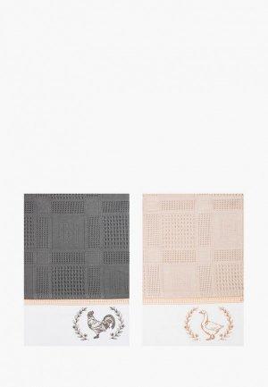 Набор полотенец кухонных Bellehome Ферма, 40х70 см