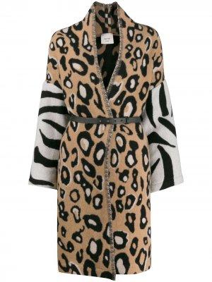 Leopard print coat Alysi