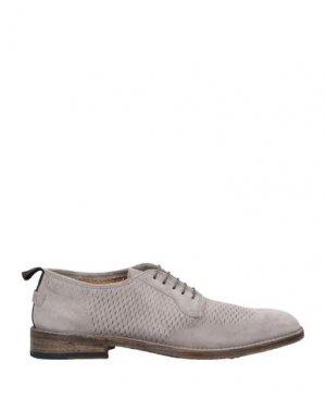 Обувь на шнурках BARRACUDA. Цвет: светло-желтый