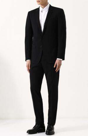 Шерстяной костюм Dolce & Gabbana. Цвет: чёрный