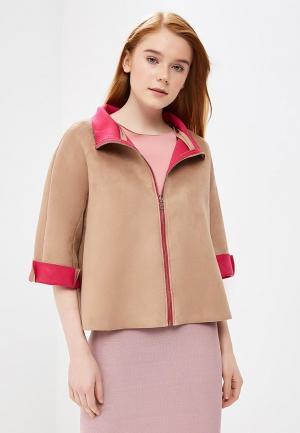 Куртка Rinascimento RI005EWANKX4. Цвет: бежевый