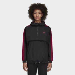 Ветровка LEOFLAGE Originals adidas. Цвет: черный
