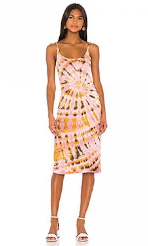 Платье-майка Raquel Allegra. Цвет: розовый