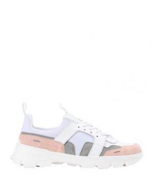 Кеды и кроссовки ARTIGIANI AURELIO GIOCONDI. Цвет: серый