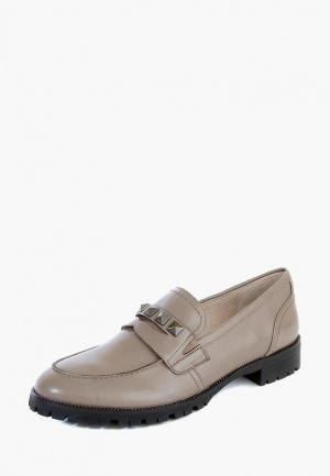 Лоферы M.Shoes. Цвет: бежевый