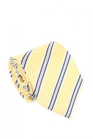 Галстук Cafe Coton. Цвет: желтый, синий, белый, полоска