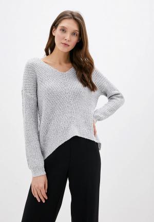 Пуловер Jacqueline de Yong. Цвет: серый