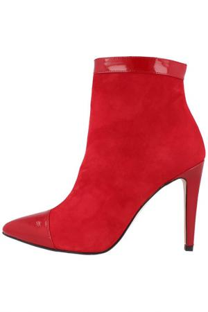 Ботильоны EL Dantes. Цвет: красный
