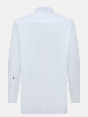 Рубашка с длинным рукавом Seidensticker. Цвет: belyy