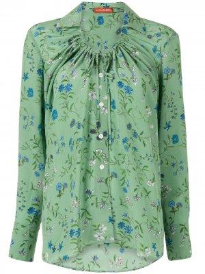 Floral print shirt Altuzarra. Цвет: зеленый