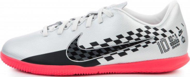 Бутсы детские Jr Vapor 13 Club Njr IC, размер 32.5 Nike. Цвет: серый