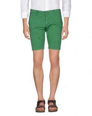 Бермуды EXCLUSIVE. Цвет: зеленый