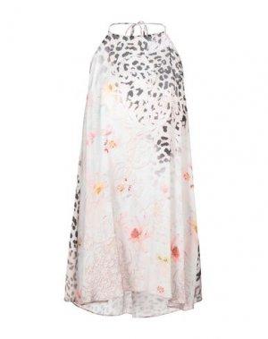 Короткое платье JOLIE CARLO PIGNATELLI. Цвет: бежевый
