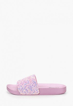 Сланцы GLAMforever. Цвет: розовый