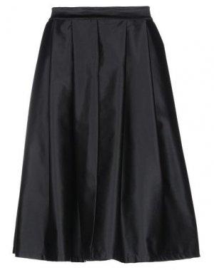 Юбка до колена KATE. Цвет: черный