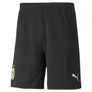 Шорты BVB Cup Replica Mens Football Shorts PUMA. Цвет: черный