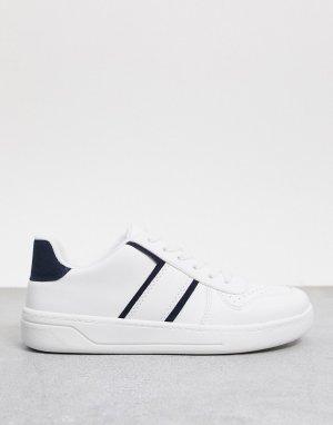 Белые теннисные кроссовки -Белый New Look