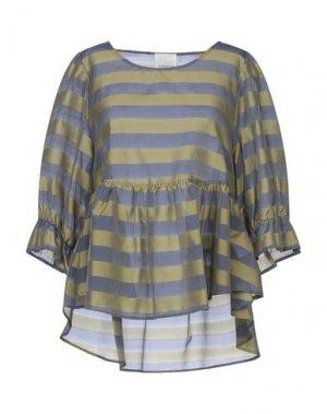 Блузка GUARDAROBA by ANIYE. Цвет: зеленый-милитари