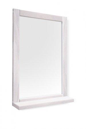 Зеркало с полкой Leset. Цвет: белый