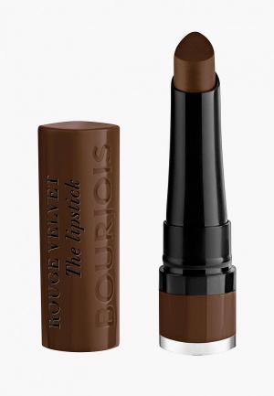 Помада Bourjois Rouge Velvet the Lipstick, 25 Macabrown, 2,4 гр. Цвет: коричневый