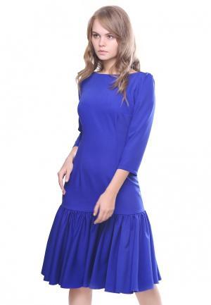 Платье Marichuell NANA. Цвет: синий