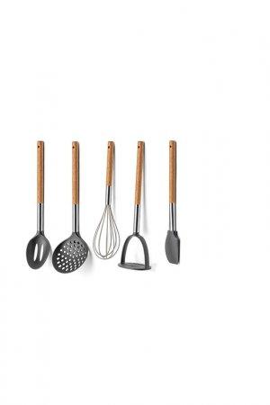 Набор кухонной утвари, 5 пр. APOLLO Genio. Цвет: серый