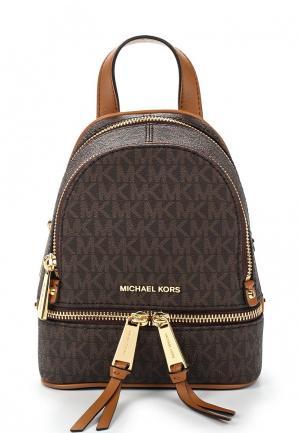 Рюкзак Michael Kors RHEA ZIP. Цвет: коричневый