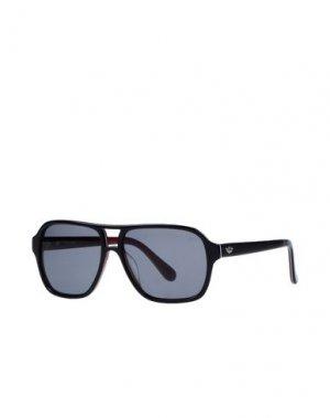 Солнечные очки POLICE. Цвет: черный