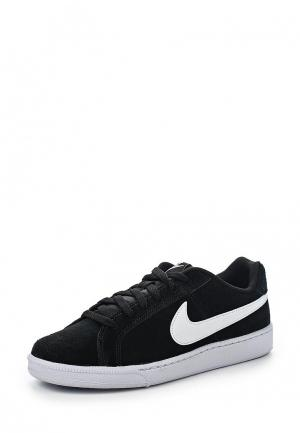 Кеды Nike Mens Court Royale Suede Shoe. Цвет: черный