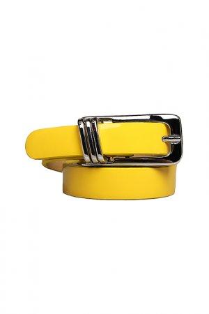 Ремень Basile. Цвет: желтый