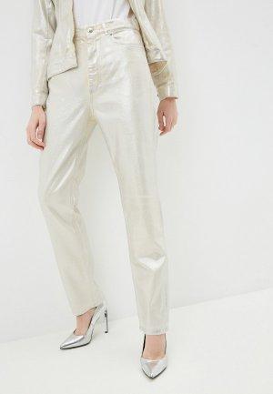Куртка джинсовая Sportmax ABISSO. Цвет: бежевый