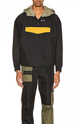 Куртка анорак diss Publish. Цвет: black,olive